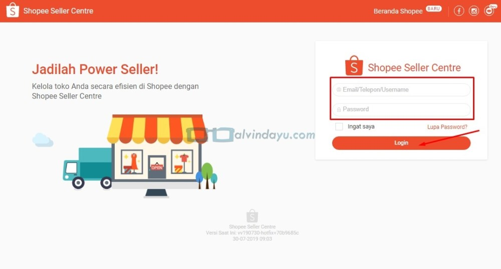 Cara Menambahkan Produk Via Seller Center Shopee, Website Shopee Seller Centre