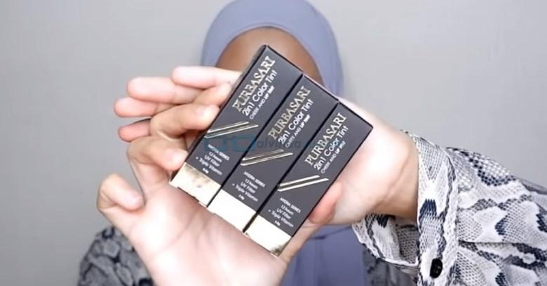 Packaging atau Kemasan Lip Tint Purbasari