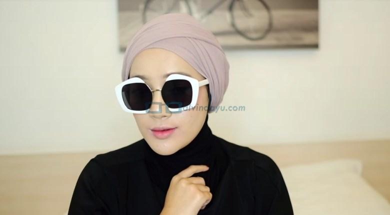 Tutorial Hijab Pashmina Diamond Turban SELESAI