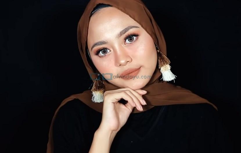 Tutorial Hijab Pashmina Diamond Wajah Bulat SELESAI