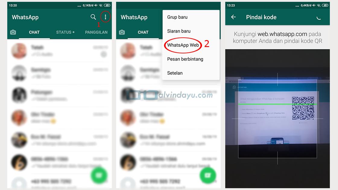 Cara Masuk ke WhatsApp Web Android