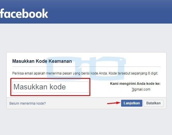 Verifikasi Email Facebook Shopee 1