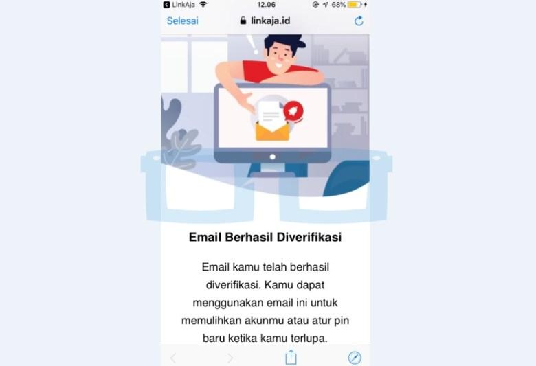 Cara Verifikasi Email Link Aja Selesai New