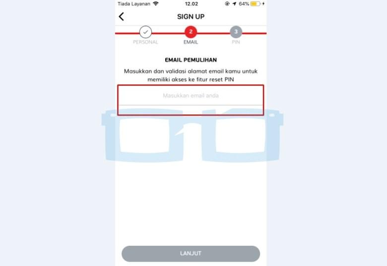 Isi Email Akun Link Aja untuk Pemulihan New