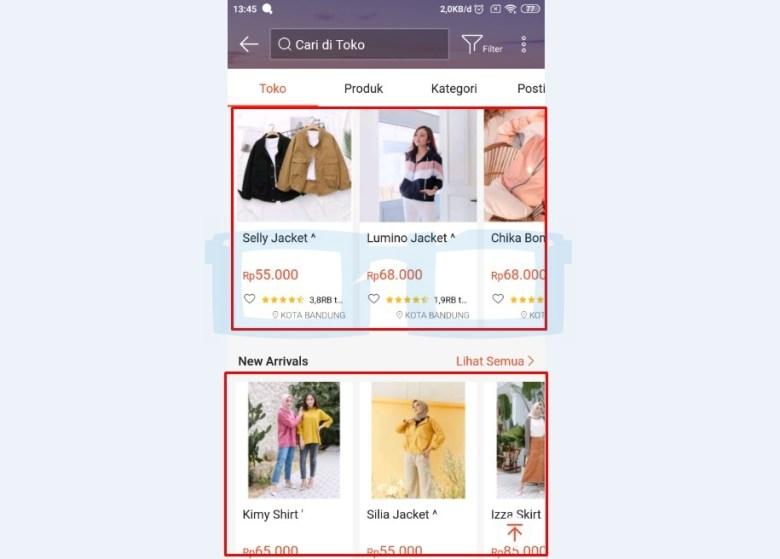 Pilih Produk atau Barang dari Partner Dropship di Shopee
