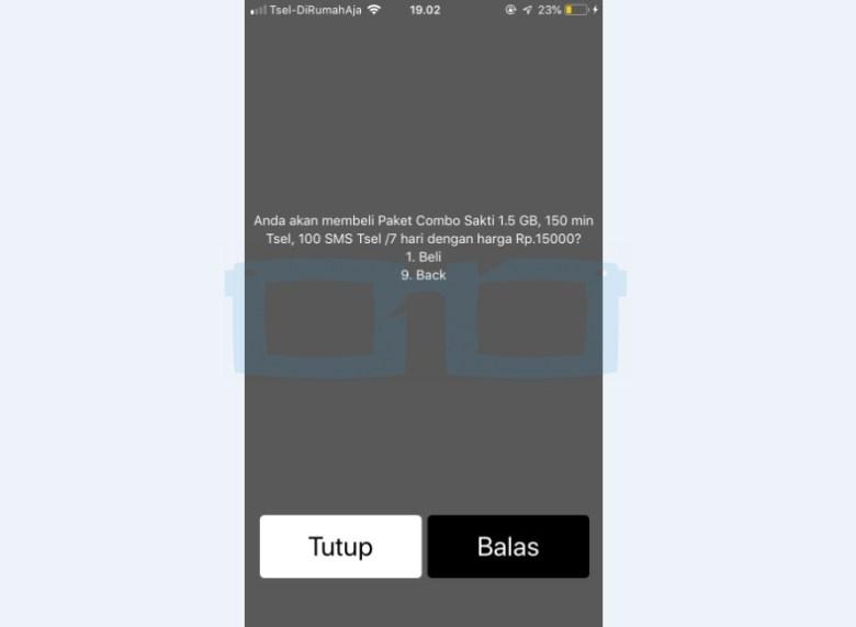 Beli Kuota Internet Combo 1 5GB Murah Telkomsel