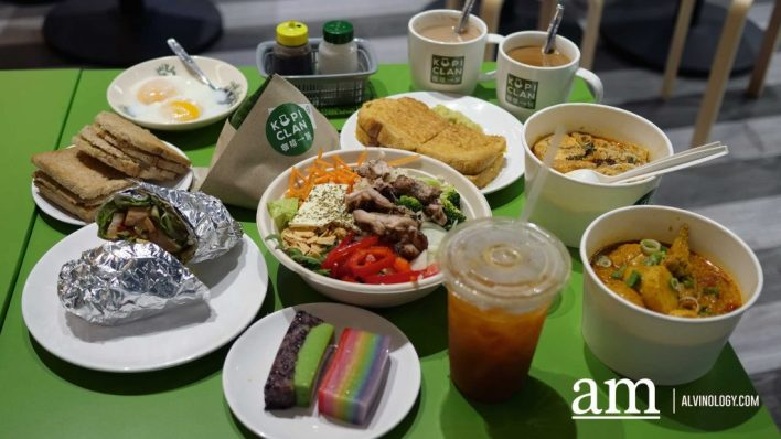 [Review] Kopi Clan @ NTP+ Serves up Nanyang coffee, local delights and Create-your-own Salads - Alvinology