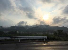 Fukuchiyama, Early Evening