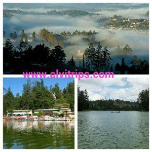 ऊटी के पर्यटन स्थल