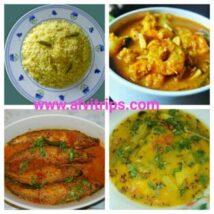 ओडिशा का खाना डिशो के सुंदर दृश्य