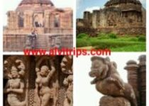 कोणार्क सूर्य मंदिर के सुंदर दृश्य