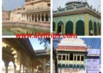नागौर के दर्शनीय स्थलों के सुंदर दृश्य