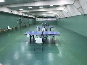 Salle en configuration tournoi