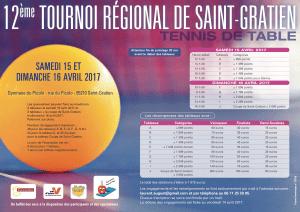 Tournoi régional de Saint Gratien