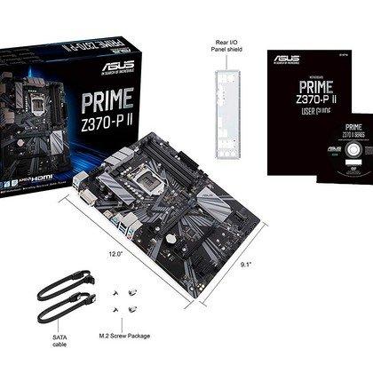 Asus Prime Z370 P Ii Ga1151 Intel 9th Gen Ddr4 Hdmi Dvi