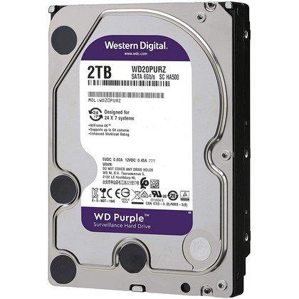 Western Digital WD Purple 2TB Surveillance Hard Disk Drive WD20PURZ 2