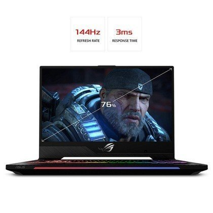 ASUS GL504GW ES019T STRIX SCAR II Intel Core i7 8750H 2.2GHz 16GB 1TB 256GB SSD 15.6 FHD 144hz Wireless Nvidia GeForce 8GB RTX 2070 Bluetooth Camera Windows 10 1