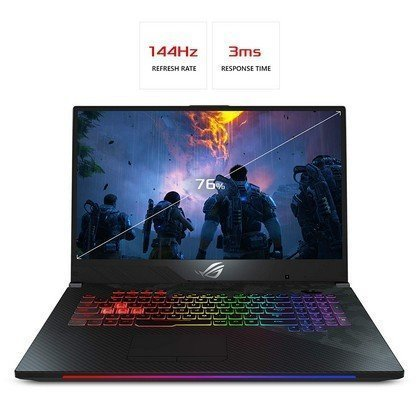 ASUS GL704GW EV011T STRIX SCAR II Intel Core i7 8750H 2.2GHz 16GB 1TB 256GB SSD 17.3 FHD 144hz Wireless Nvidia GeForce 6GB RTX 2070 Bluetooth Camera Windows 10 1
