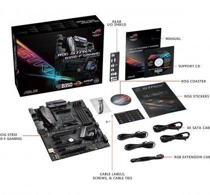 Asus ROG B350 F STRIX GAMING AMD Ryzen AM4 DDR4 ATX Motherboard 90MB0UJ0 M0EAY0....