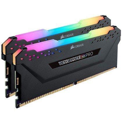 Corsair Vengeance RGB Pro 16GB 2x8GB 288 Pin DDR4 DRAM DDR4 3200 Desktop CMW16GX4M2C3200C16