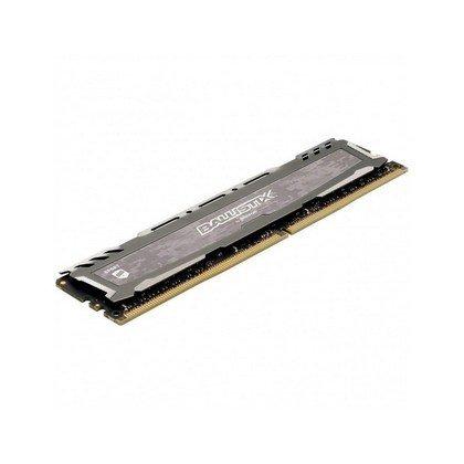 Crucial Ballistix 16GB Sport LT Series DDR4 3000 MHz DR UDIMM Memory Gray BLS16G4D30AESB
