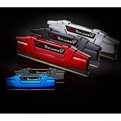 G.SKILL Ripjaws V Series 32GB 2 X 16GB 288 Pin DDR4 SDRAM DDR4 3000 PC4 24000 Desktop Memory F4 3000C16D 32GVRB