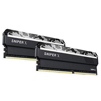 GSKILL Sniper X Series 16GB 2x8GB 288 Pin PC4 24000 DDR4 3000MHz Desktop Memory F4 3000C16D 16GSXWB