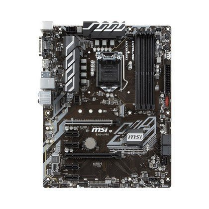 MSI B360 A PRO LGA 1151 300 Series Intel B360 SATA 6GbS 3.1 ATX Intel Motherboard