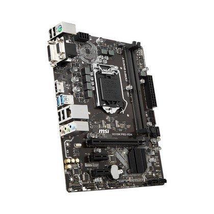 MSI H310M PRO VDH LGA 1151 300 Series Intel H310 HDMI Micro ATX Intel Motherboard