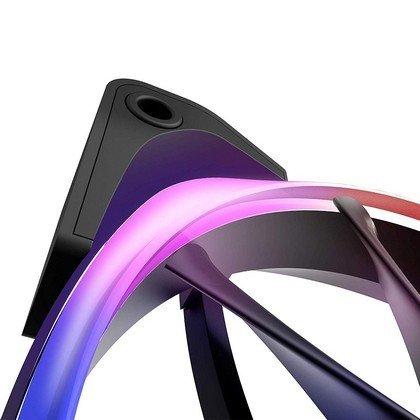Nzxt Aer RGB 120mm Triple Starter Kit Fans HUE 2 Controller Black