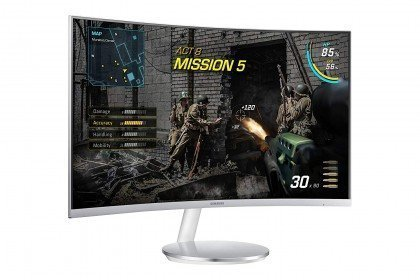Samsung Curved 27 Inch Full HD Built In Speakers AMD FreeSync 4ms Gaming Monitor LC27F591FDM..