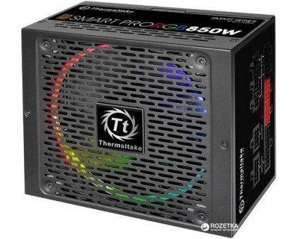 Thermaltake Smart Pro 850W Fully Modular RGB Fan 80 Plus Bronze Power PS SPR 0850FPCBEU R