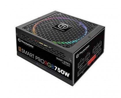 Thermaltake Smart Pro RGB 750W 80 Bronze Smart Zero 256 Color RGB Fan Fully Modular ATX 12V 2.4 EPS 12V 2.92 Power PS SPR 0750FPCBEU R