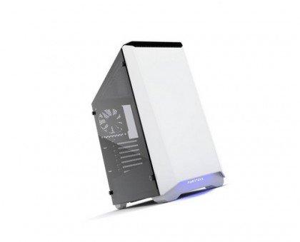 Phanteks Eclipse P400S Silent Edition Tempered Glass Steel RGB ATX Mid Computer Case Glacier White PH EC416PSTG WT
