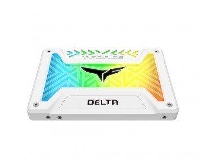 Team Group T FORCE DELTA RGB SSD 2 5 1TB SATA III Internal RGB Solid State Drive T253TR001T3C413