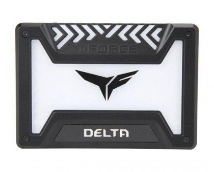 Team Group T Force Delta RGB 1TB 2 5 Inch SATA III 3D Internal Solid State Drive Black T253TR001T3C313
