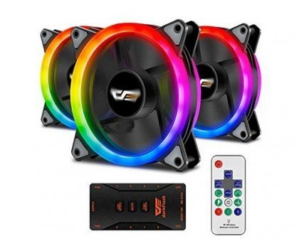 Darkflash Aurora Dr12 Pro 3 Pack Addressable 120mm Rgb Led