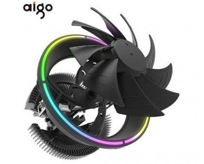 darkFlash DARKVOID Top Flow Air CPU Cooling Cooler Heastink with 125mm LED Fan for Intel AMD
