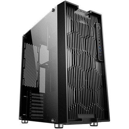 Tortox Iris Full Tower PC Gaming Case E ATX 8 Fan Support Full Tempered Glass Side Panel Included Water Cooling Ready 2
