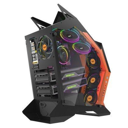 DarkFlash Knight K1 Mid Tower Gaming Computer Case 2