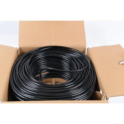 Genuine CAT6 Cable 100M SFTP Outdoor Black 23 AWG 2