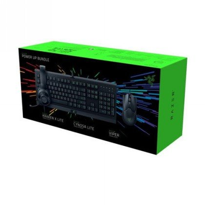 Razer Power Up Bundle Starter Kit Cynosa Viper Kraken X RZ85 02740200 B3M1 2