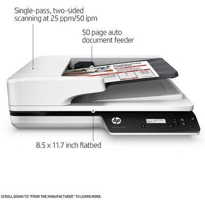 HP ScanJet Pro 3500 f1 Flatbed Scanner 2