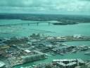El Harbour Bridge y el puerto deportivo, repleto de veleros
