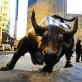 La estrella del Downtown, el Charging Bull o Toro de Wall Street
