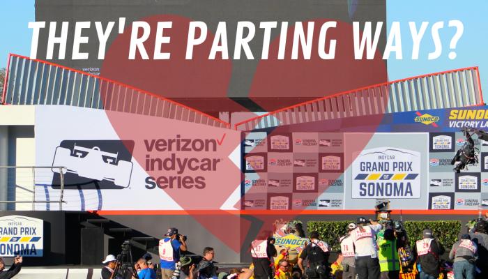 The Last Indycar Race At Sonoma Raceway