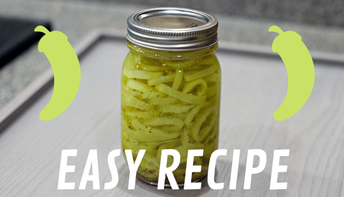 Pickling Banana Peppers: A Step-by-Step Guide