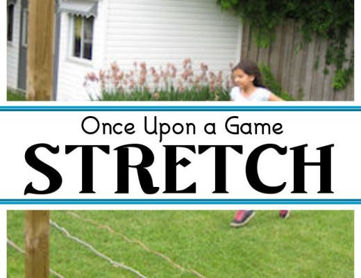 Once Upon a Game - Stretch - a fun, active and engaging game for the outdoors.