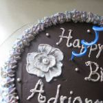 Cake anyone??? – Brushed Embroidery