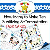 Subitizing - How many to make ten